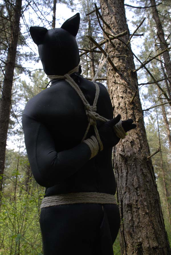 Outdoor Bondage with Mistress Dewi