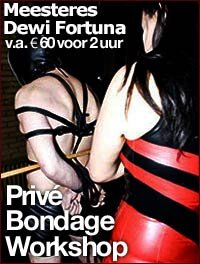 Bondage workshop Mistress Dewi in Eindhoven