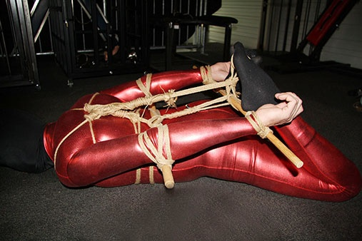 Asian-extreme-hogtie by Mistress Dewi